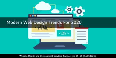 Modern Web Design Trends For 2020