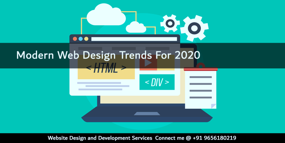 Modern Web Design Trends For 2020