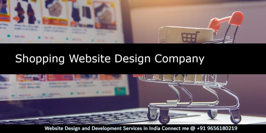 Shopping-Website Design Company