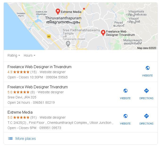 local seo services in trivandrum