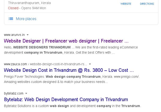 organic seo services in trivandrum